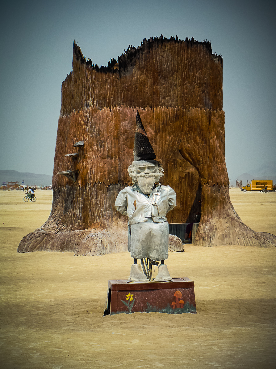 Black Rock City, Burning Man 2013, Cargo Cult, Gee -Gnome, Xylophage ...