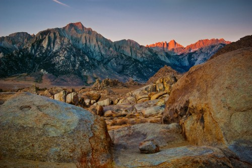 Eastern Sierra Mountains